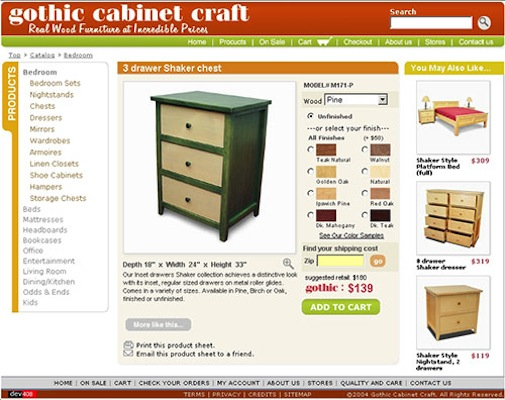 408 Group u00bb Gothic Cabinet Craft